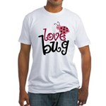 Love Bug Fitted T-Shirt