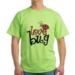 Love Bug Green T-Shirt