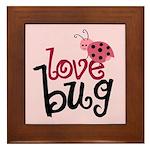 Love Bug Framed Tile