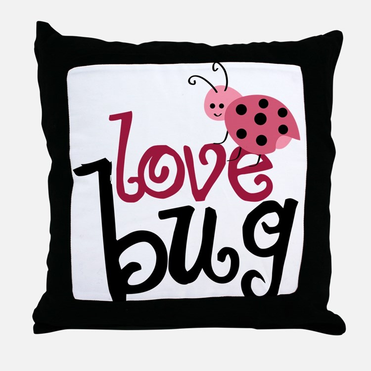 Throw Out Pillows Bed Bugs : Love Bug Pillows, Love Bug Throw Pillows & Decorative Couch Pillows