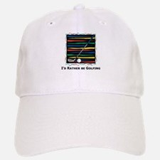 I'd Rather be Golfing Baseball Baseball Cap