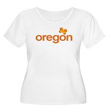 Cute Orange Oregon T-Shirt