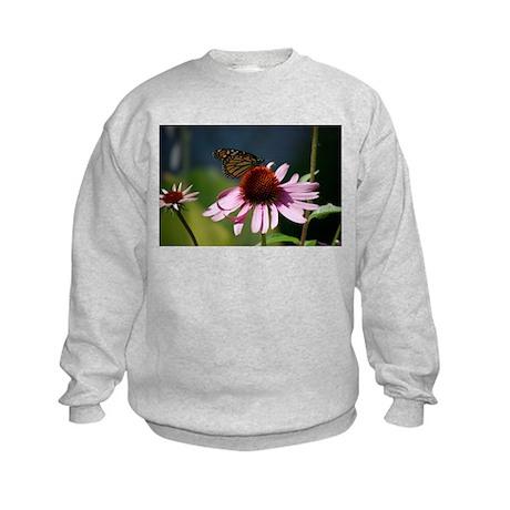 Monarch Butterfly Kids Sweatshirt
