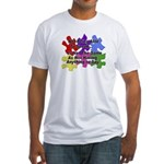 Autism: Say vs Speak Fitted T-Shirt