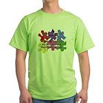 Autism: Say vs Speak Green T-Shirt