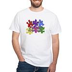 Autism: Say vs Speak White T-Shirt