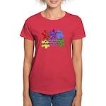 Autism: Say vs Speak Women's Dark T-Shirt
