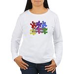 Autism: Say vs Speak Women's Long Sleeve T-Shirt