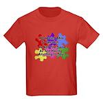 Autism: Say vs Speak Kids Dark T-Shirt