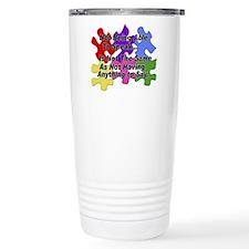Autism: Say vs Speak Travel Coffee Mug