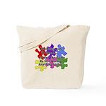 Autism: Say vs Speak Tote Bag