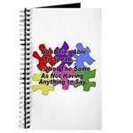Autism: Say vs Speak Journal