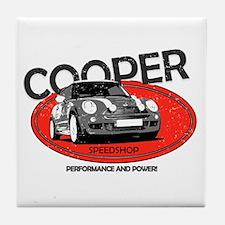 Cooper Speedshop Tile Coaster