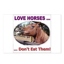 Stop Horse Slaughter Postcards (Package of 8)