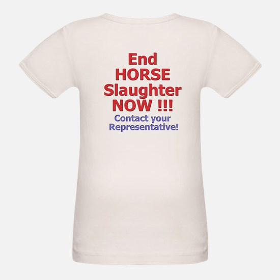 Stop Horse Slaughter Tee
