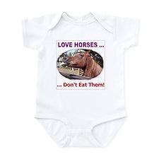 Stop Horse Slaughter Infant Bodysuit
