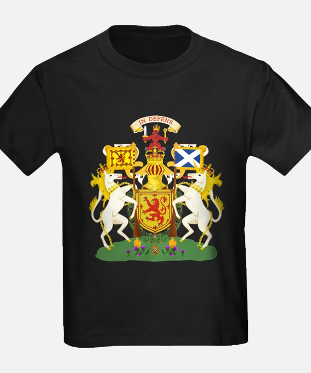 Scotland Coat of Arms (Front) T