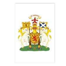 Scotland Coat of Arms Postcards (Package of 8)