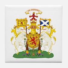 Scotland Coat of Arms Tile Coaster