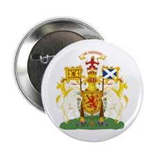 """Scotland Coat of Arms 2.25"""" Button (10 pack)"""