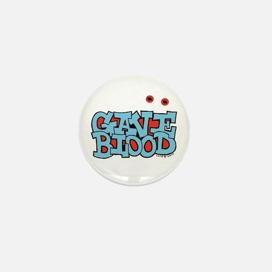 Gave Blood Mini Button