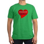 Autism Love Men's Fitted T-Shirt (dark)