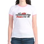Anger Management Class Jr. Ringer T-Shirt