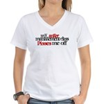 Anger Management Class Women's V-Neck T-Shirt