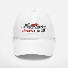 Anger Management Class Baseball Baseball Cap
