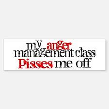 Anger Management Class Bumper Bumper Sticker
