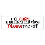 Anger Management Class Sticker (Bumper 10 pk)