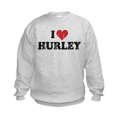 I Heart Hurley Kids Sweatshirt