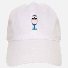 Skull Golf Ball Baseball Baseball Cap