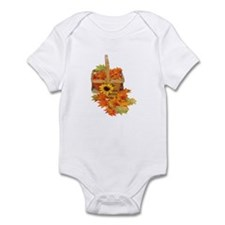 Country Fall Basket Infant Bodysuit