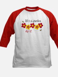 Life's A Garden Kids Baseball Jersey