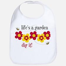 Life's A Garden Bib
