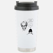 Grandma Condom Stainless Steel Travel Mug