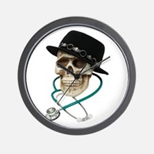 Dr. Cool Hat Wall Clock