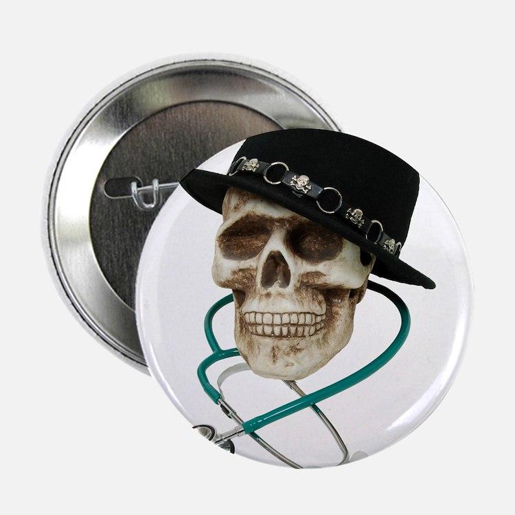 "Dr. Cool Hat 2.25"" Button"
