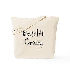 Batshit Tote Bag
