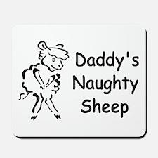 Daddys Naughty Sheep Mousepad