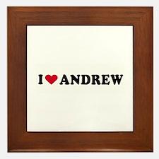 I ANDREW ~ Framed Tile
