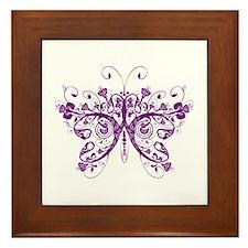 Butterfly Framed Tile