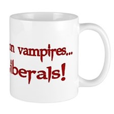 Works on Vampires Mug