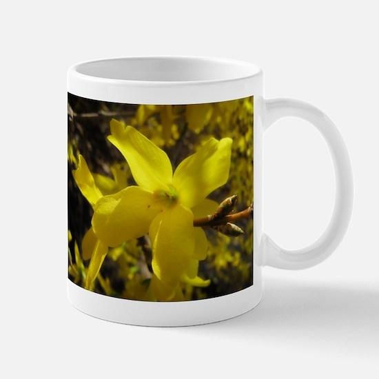Forsythia Bush Mug