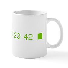 4 8 15 16 23 42 Small Mug