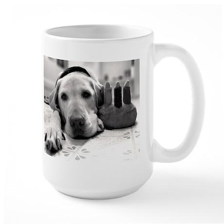 Birthday Pup Large Mug