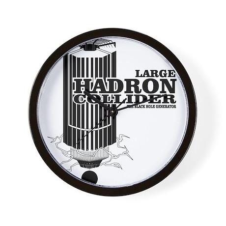 Hadron Collider Wall Clock