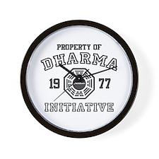 Property of Dharma Initiative Wall Clock