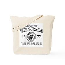 Property of Dharma Initiative Tote Bag
